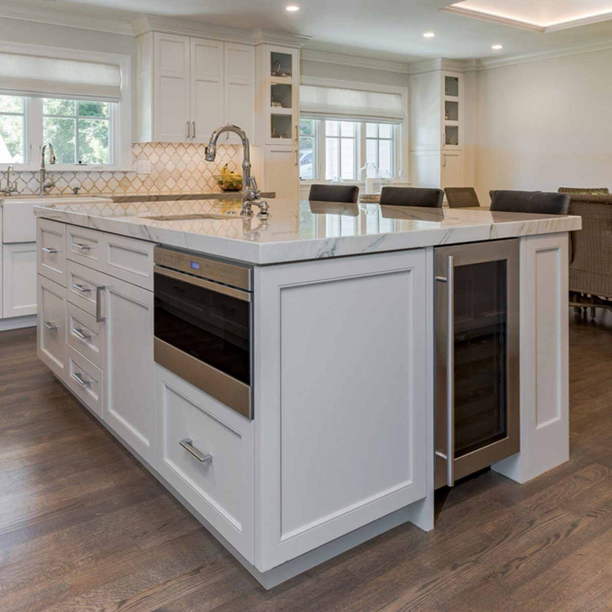 Integrate Appliances into Your Kitchen Island