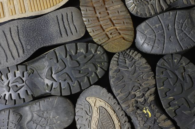 soled shoes old