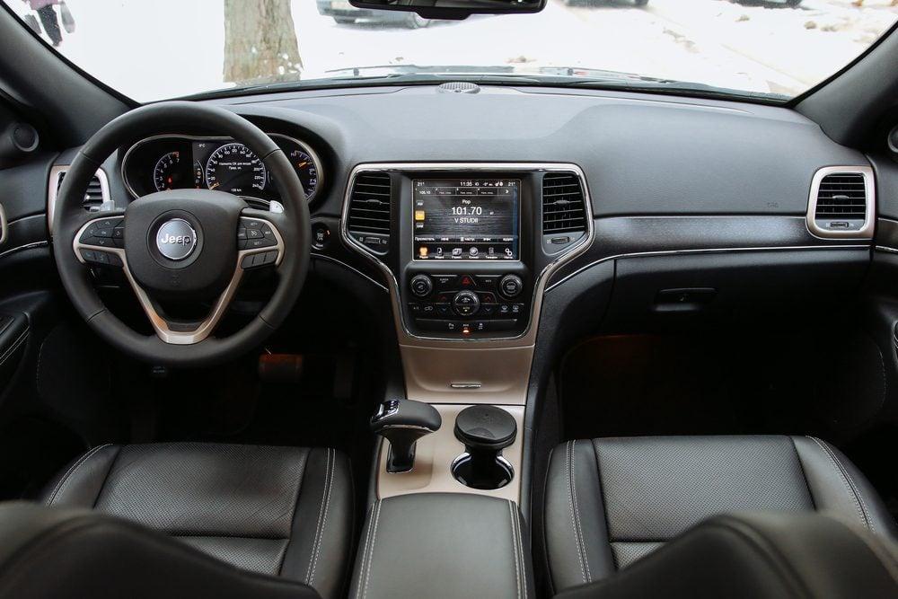 car jeep interior