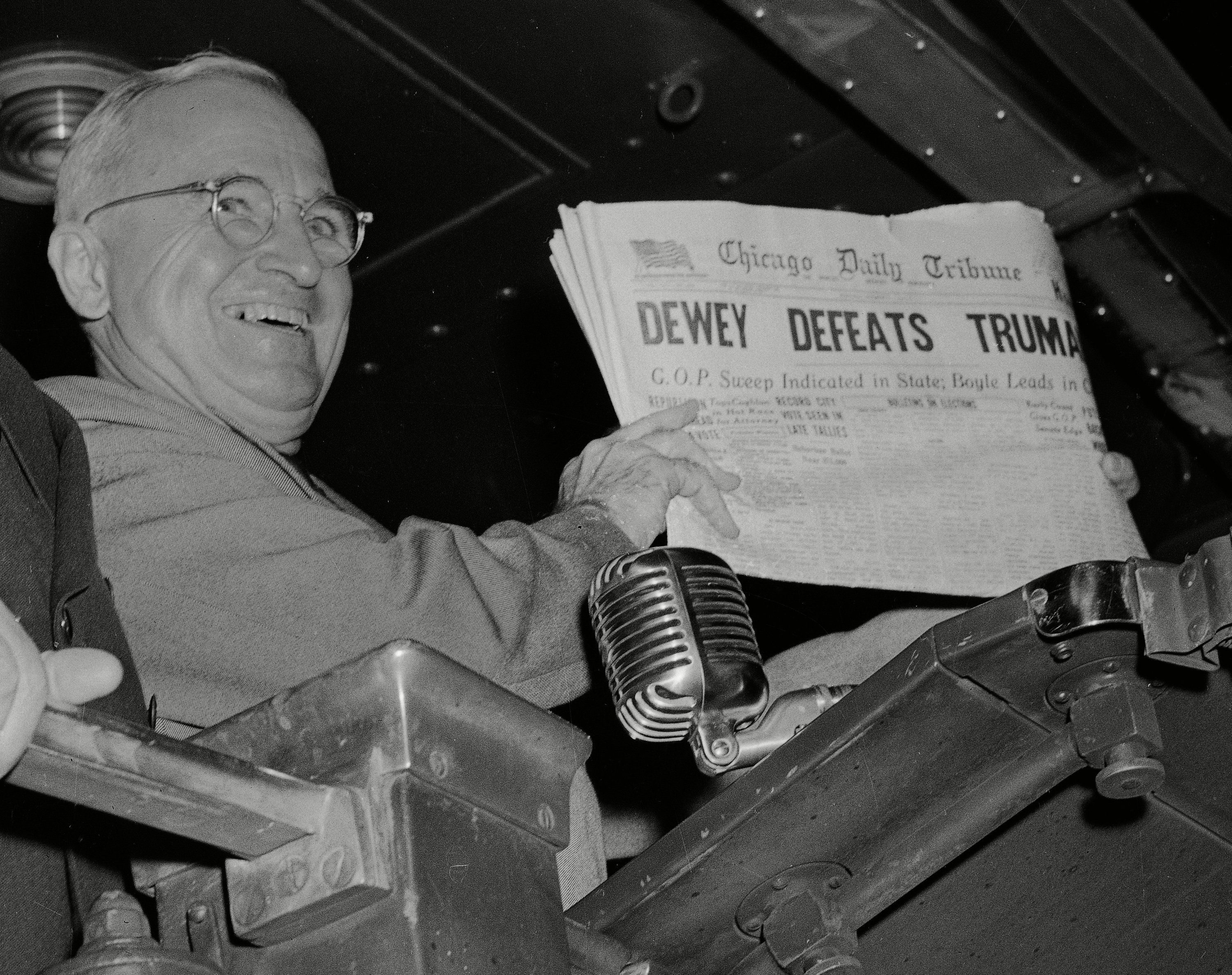 Dewey Defeats Truman, St. Louis, USA