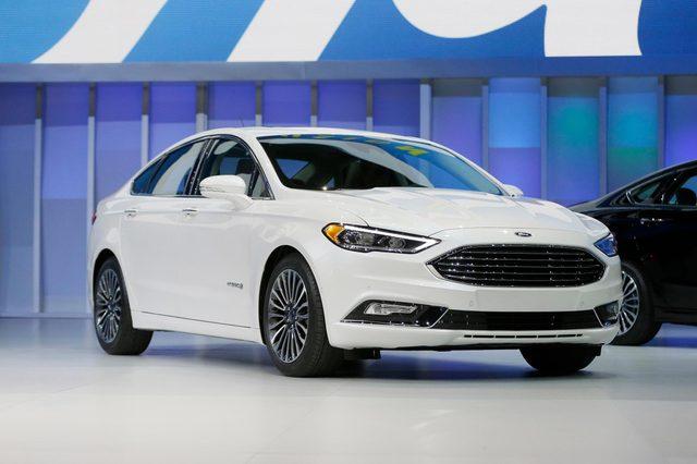 Auto Show Ford, Detroit, USA