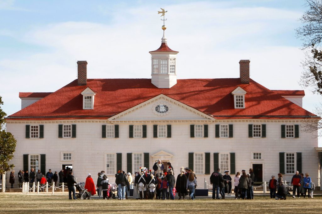 Presidents Day Weekend, Mt. Vernon, USA