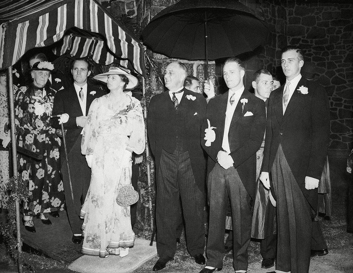 Franklin D. Roosevelt and Eleanor Roosevelt, Wilmington, USA