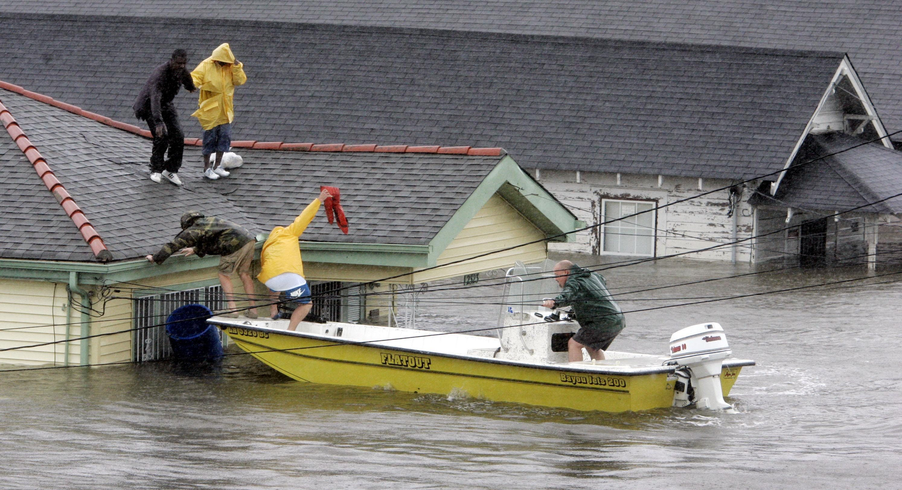 US Hurricanes-Most Intense, New Orleans, USA