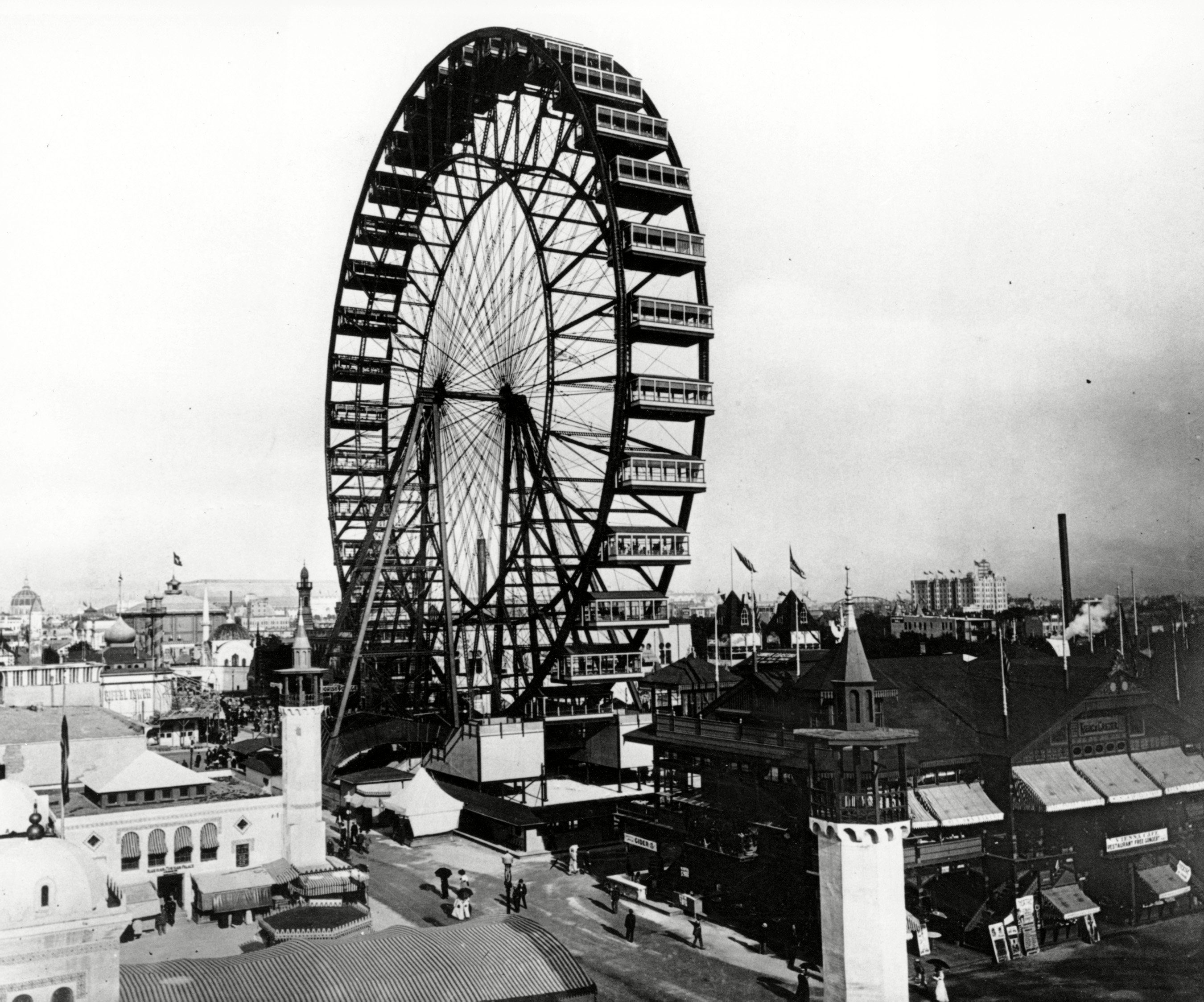 London Olympics Worlds Fair, Chicago, USA