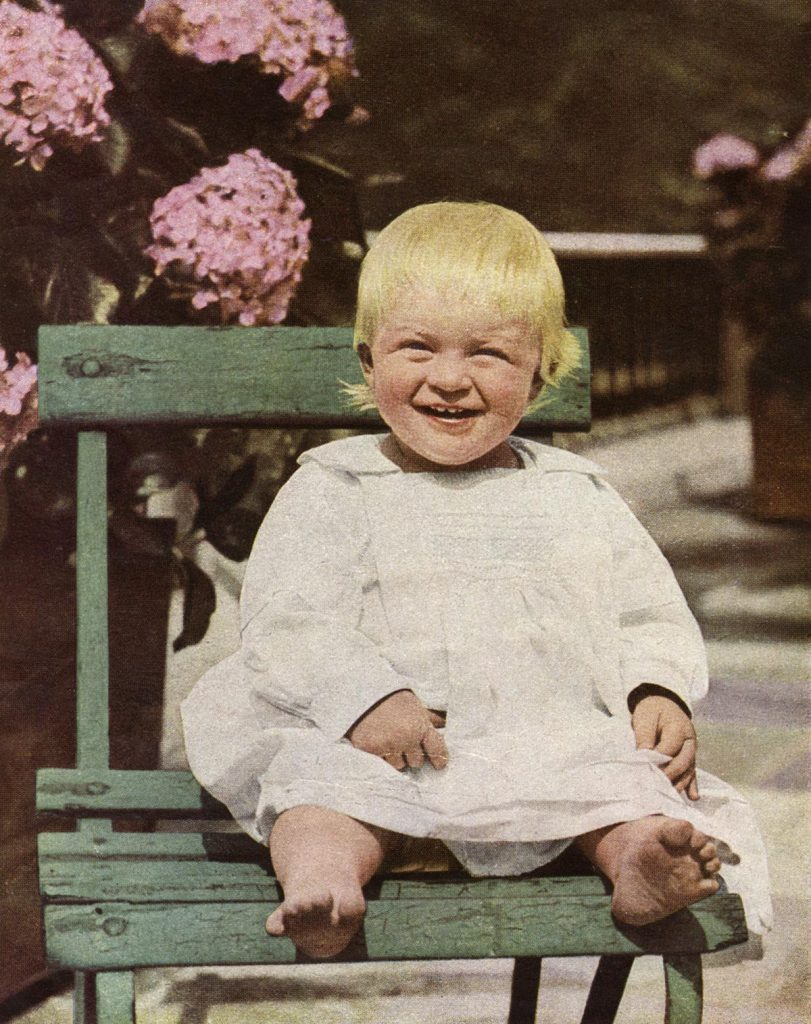 Historical Collection 173 Prince Philip Duke of Edinburgh (born 1921) Pictured at the Age of Fourteen Months in 1922 Prince Philip Was the Youngest Child of Prince and Princess Andrew of Greece 1922