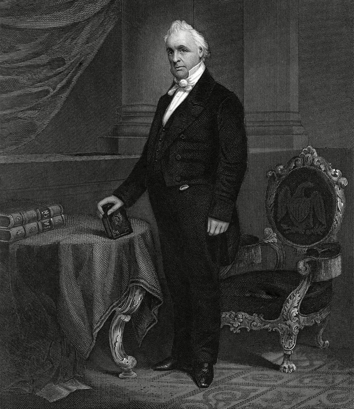 Historical Collection 32 James Buchanan 15th President of the United States 1791 - 1868