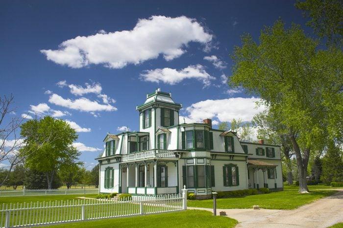 Farm and house of the famous Buffalo Bill near North Platte in Nebraska