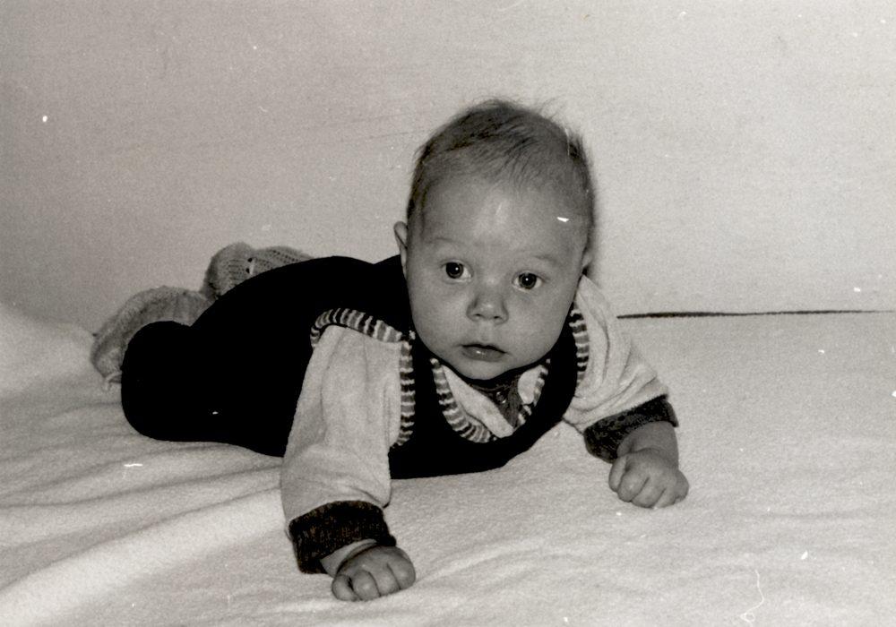 nurse child - photo scan - about 1970s