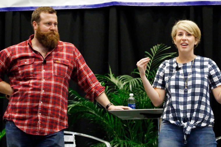 HGTV-Home Town Hosts, Jackson, USA - 27 Apr 2017