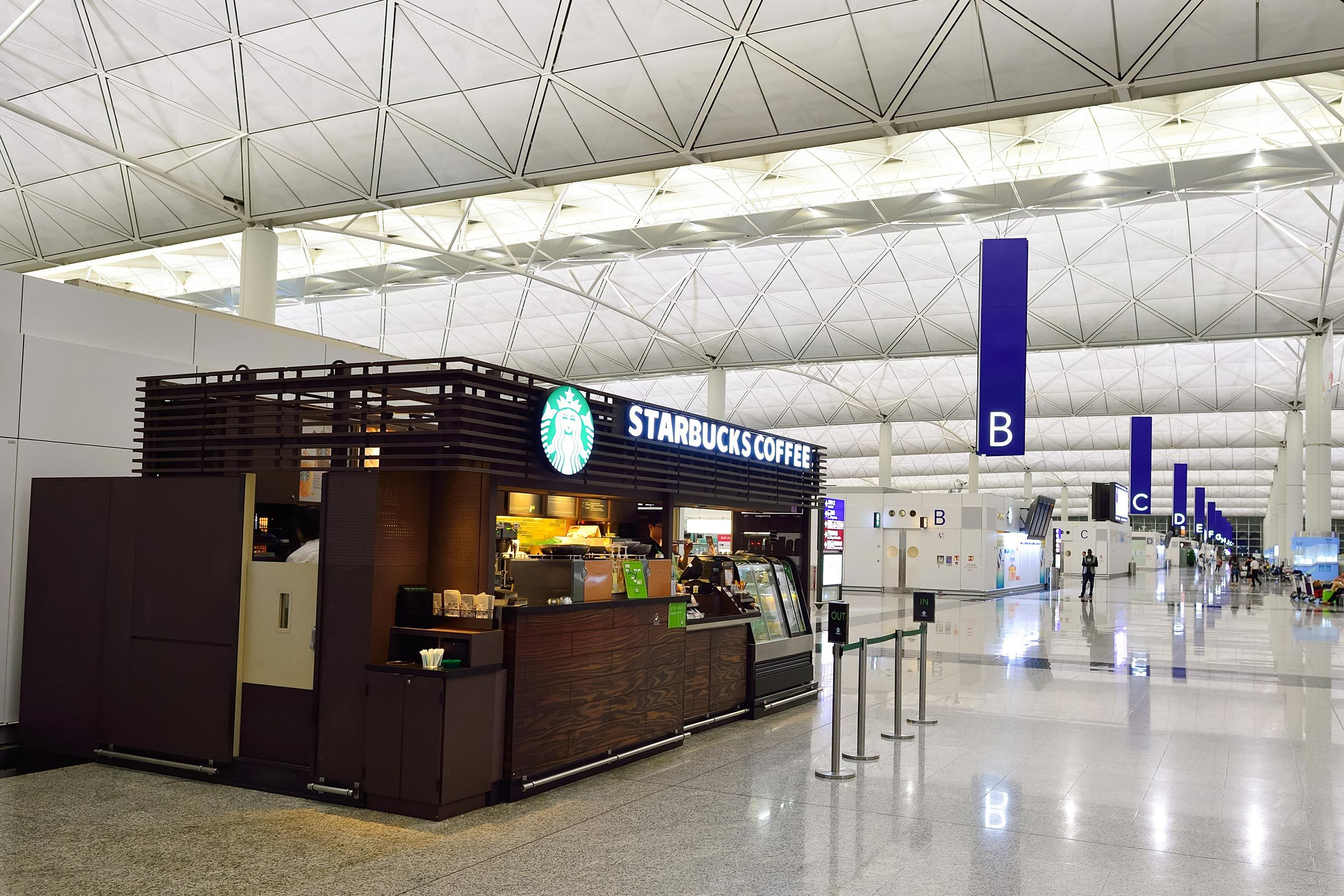starbucks airport