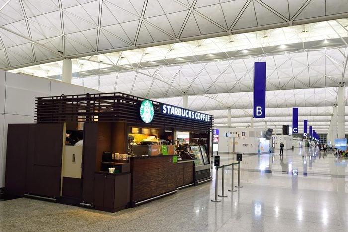 starbucks airport