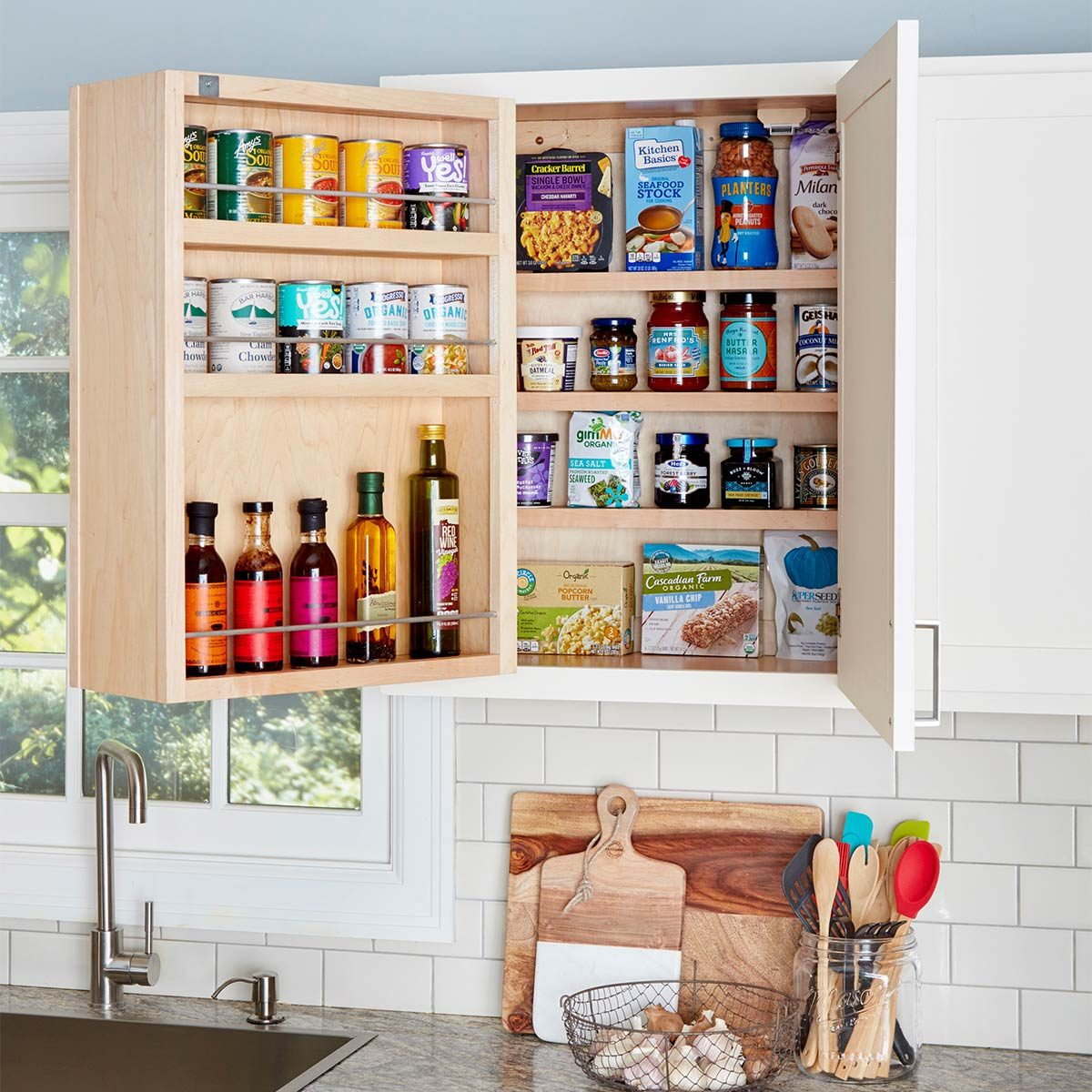 swing out kitchen cabinet
