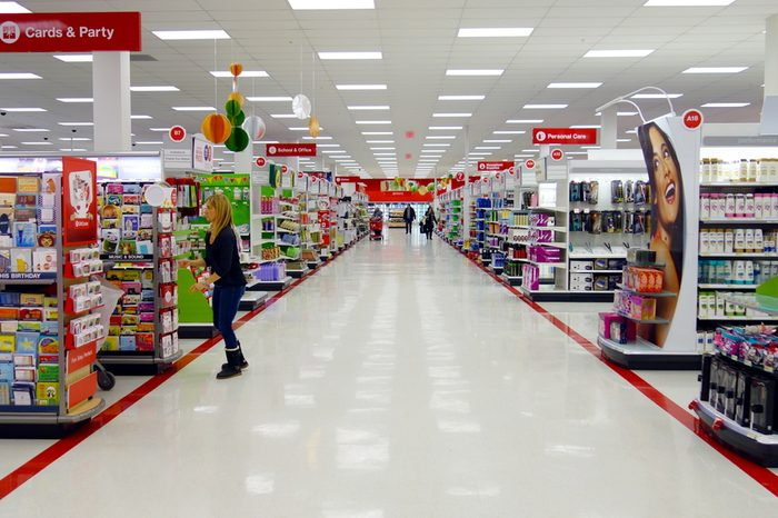 TORONTO - DECEMBER 14: A Target store on December 14, 2013 in Toronto, Canada. The Target Corporation is an American retailing company, founded in 1902 and headquartered in Minneapolis, Minnesota.