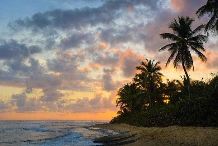 Tropical Sunrise - Vieques, Puerto Rico