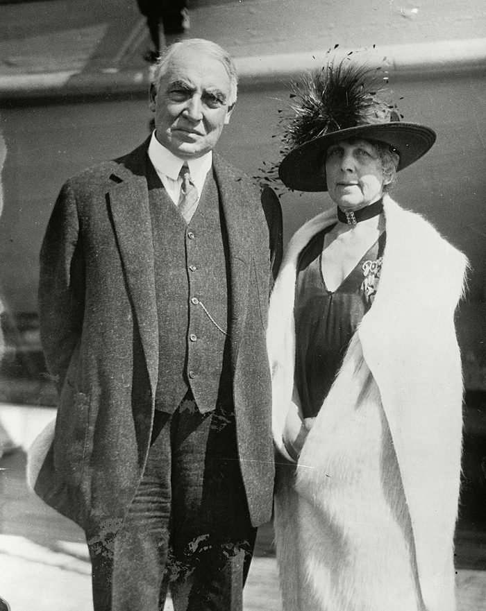 Various 1923, No Location - President Warren G. And Mrs. Florence Harding