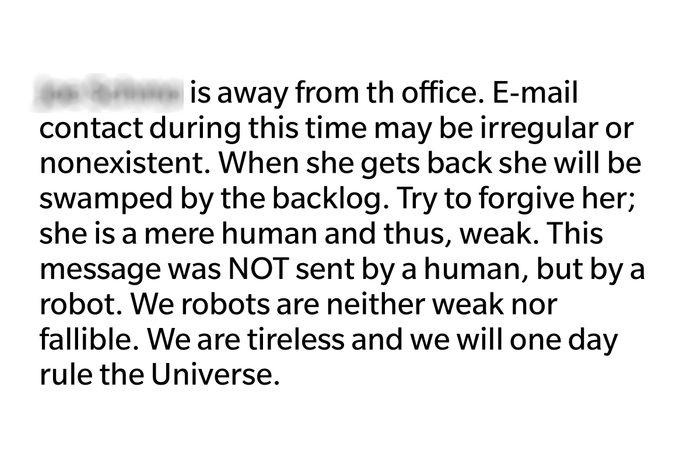 weak human