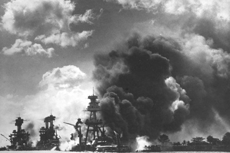 WORLD WAR II - PEARL HARBOR, AMERICA - 07 DEC 1941