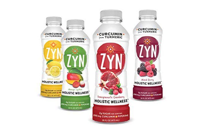 ZYN - Holistic Wellness Health Drink CURCUMIN + PIPERINE 12 pack (Variety Pack)