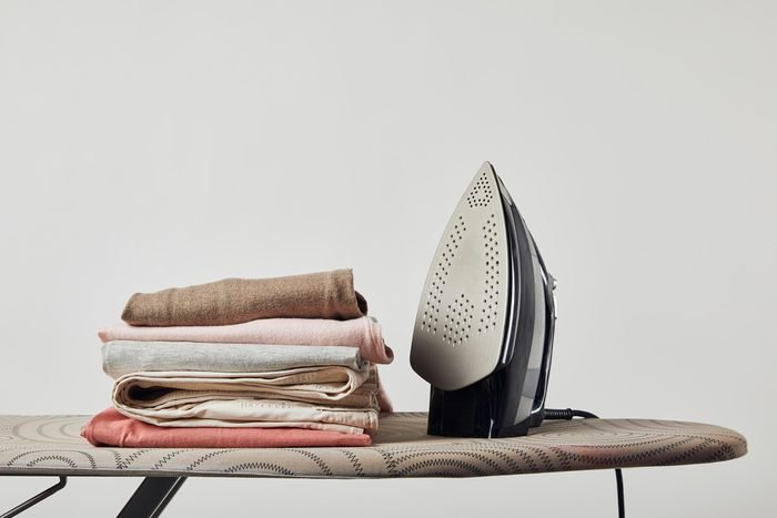 ironing board clothes