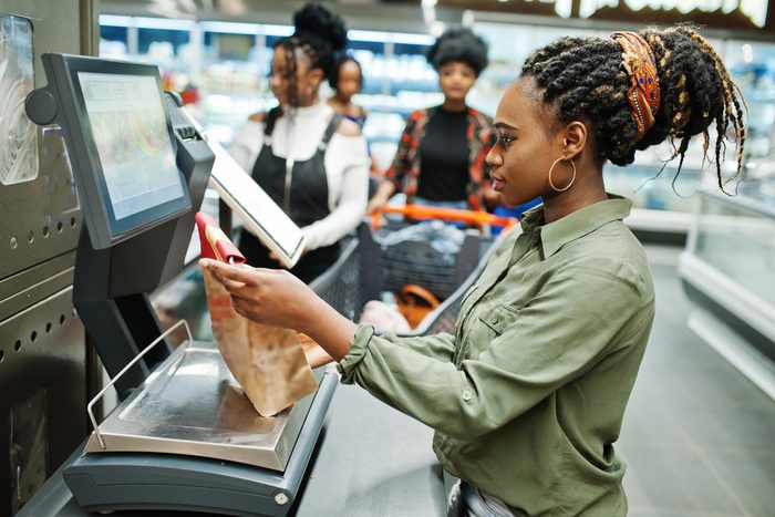 grocery sef checkout
