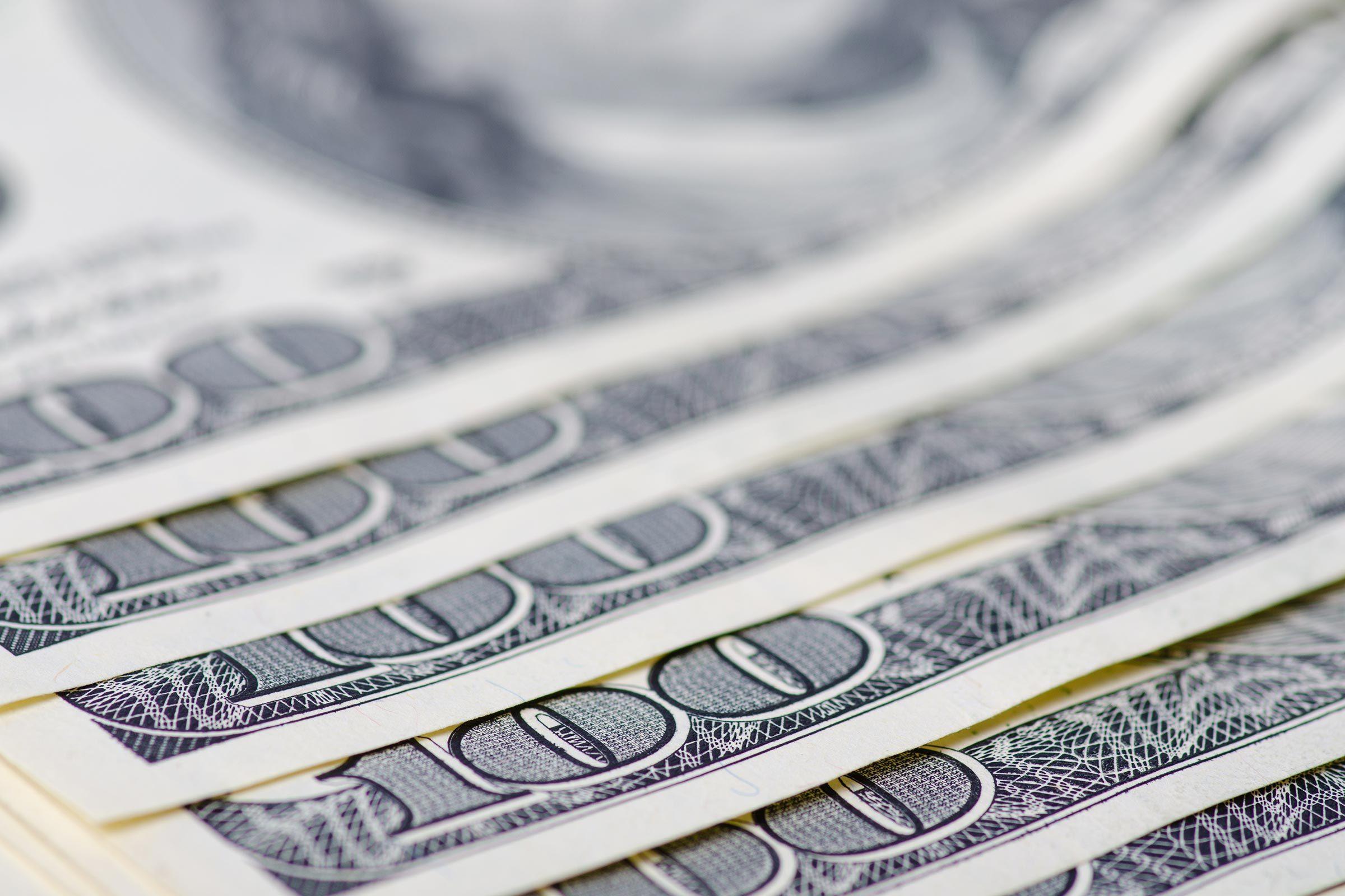 hundred dollars cash