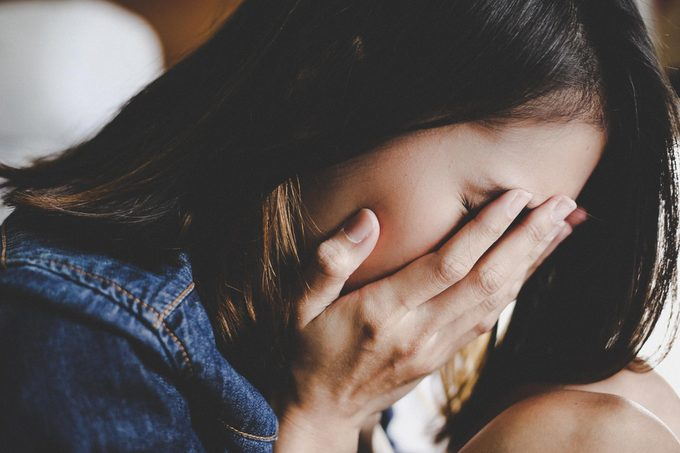 woman sad depressed anxiety