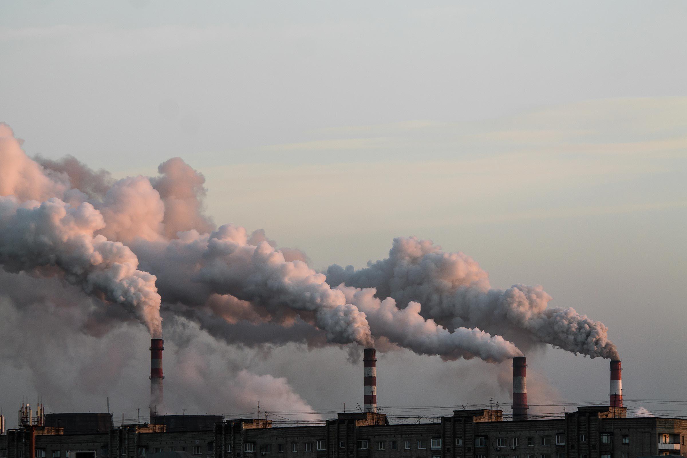 factory air pollution
