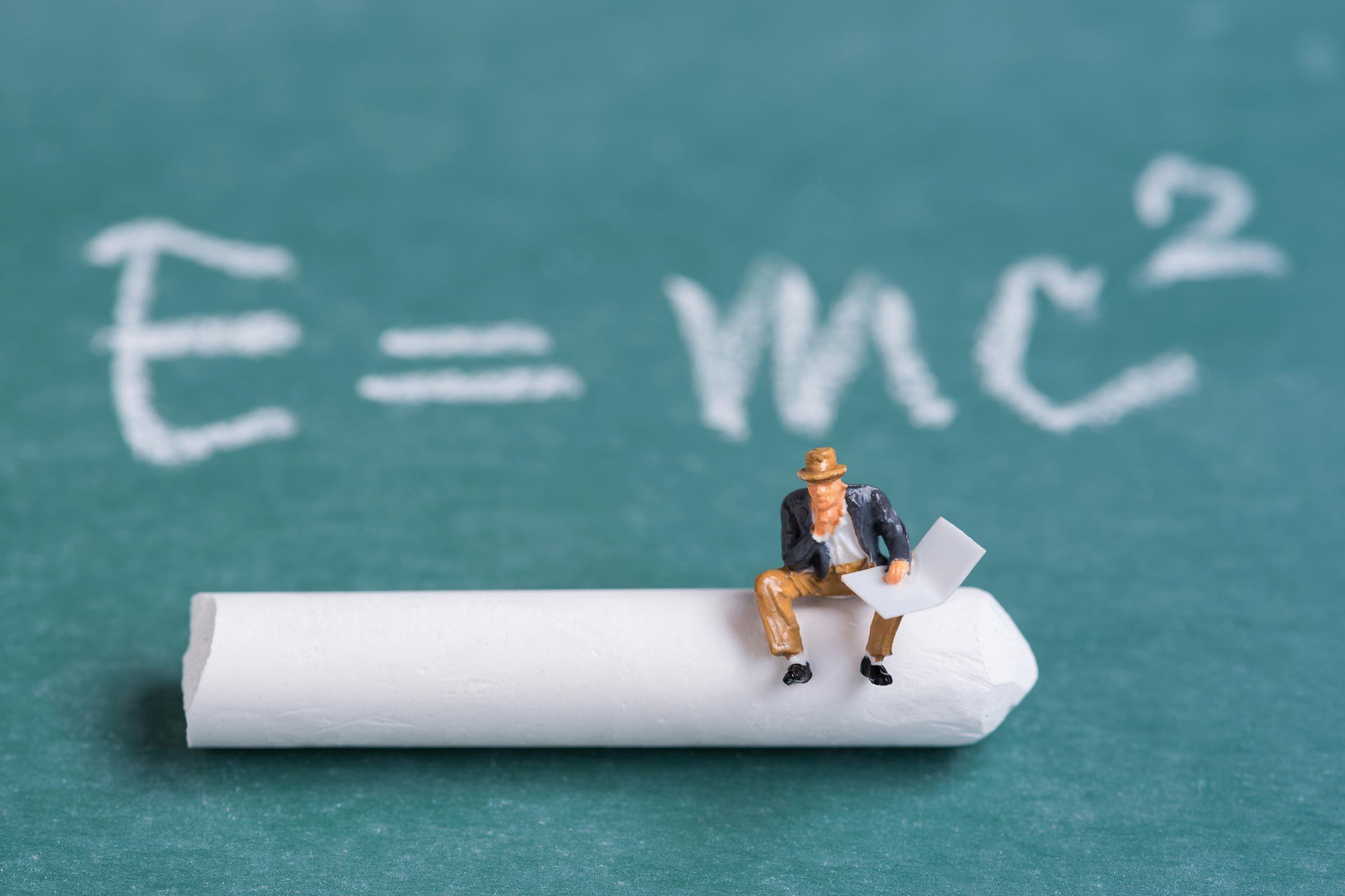 miniature figures school supplies books classroom