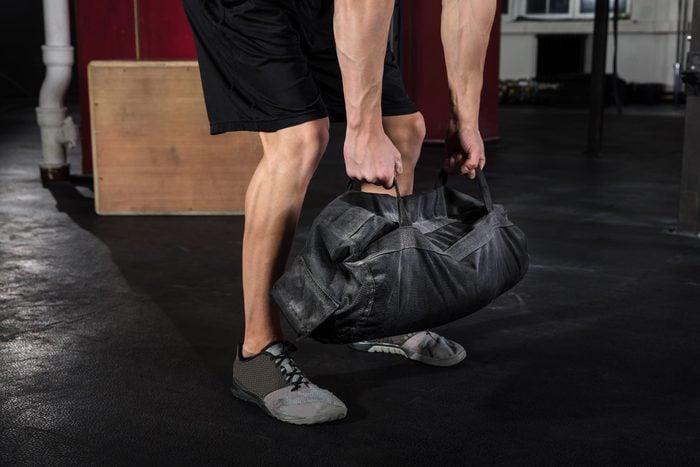 gym bag man