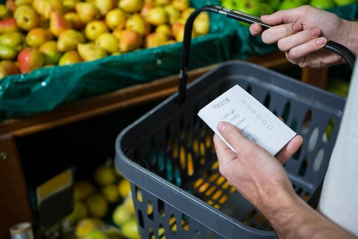grocery basket list