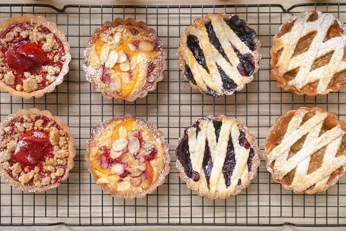 fruit pies baked