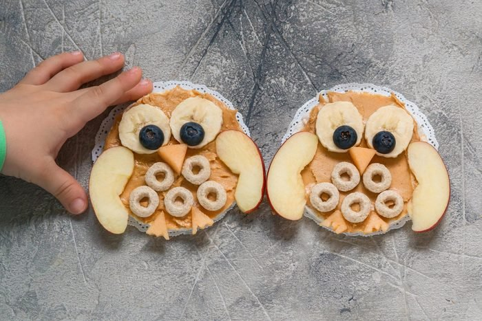 peanut butter kids sandwich