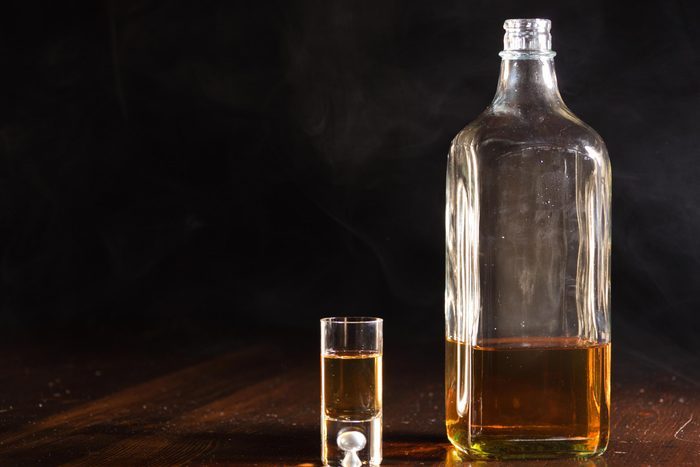 alcohol shot glass