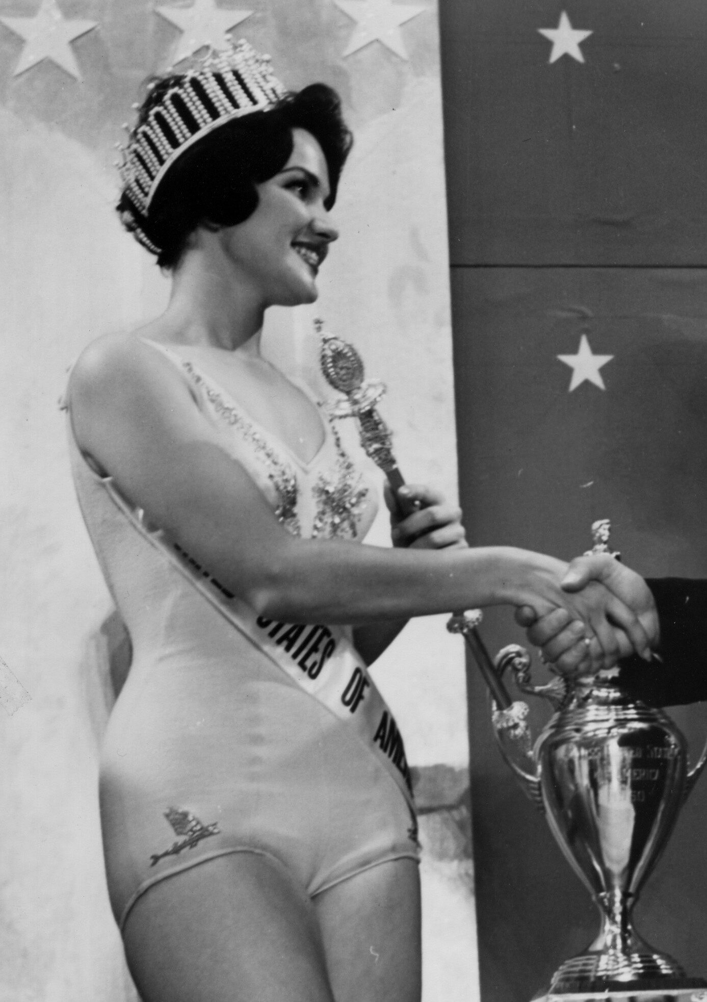 Miss Universe 1960 Miss USA Linda Bement