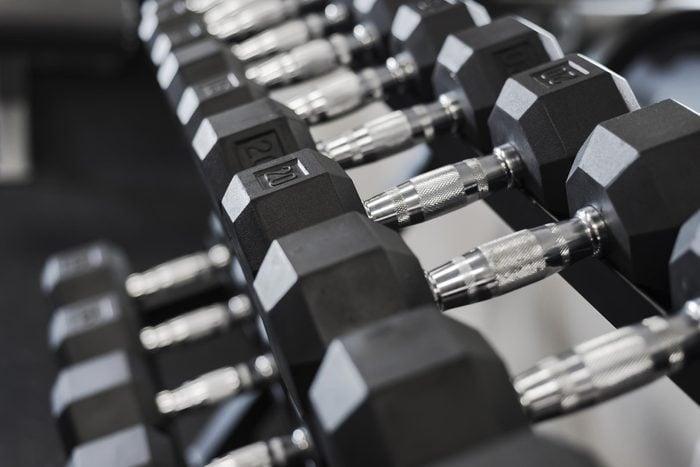 weight rack gym
