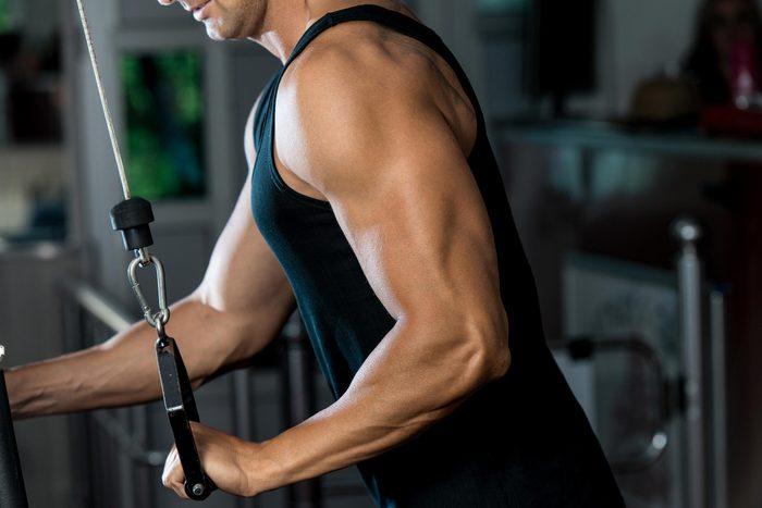 man gym machine