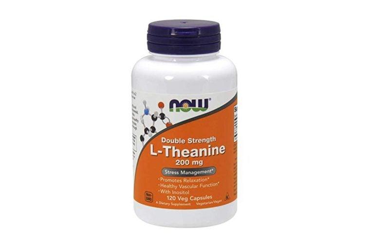 NOW® Foods L-Theanine, 200 mg, 120 Veg Caps