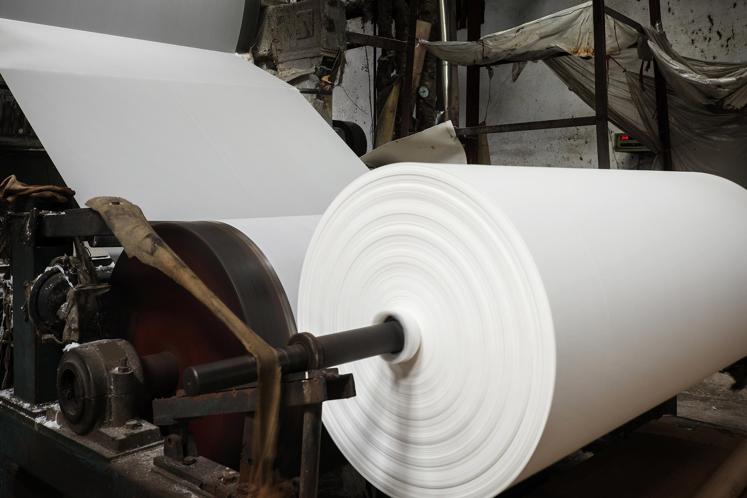paper mill factory