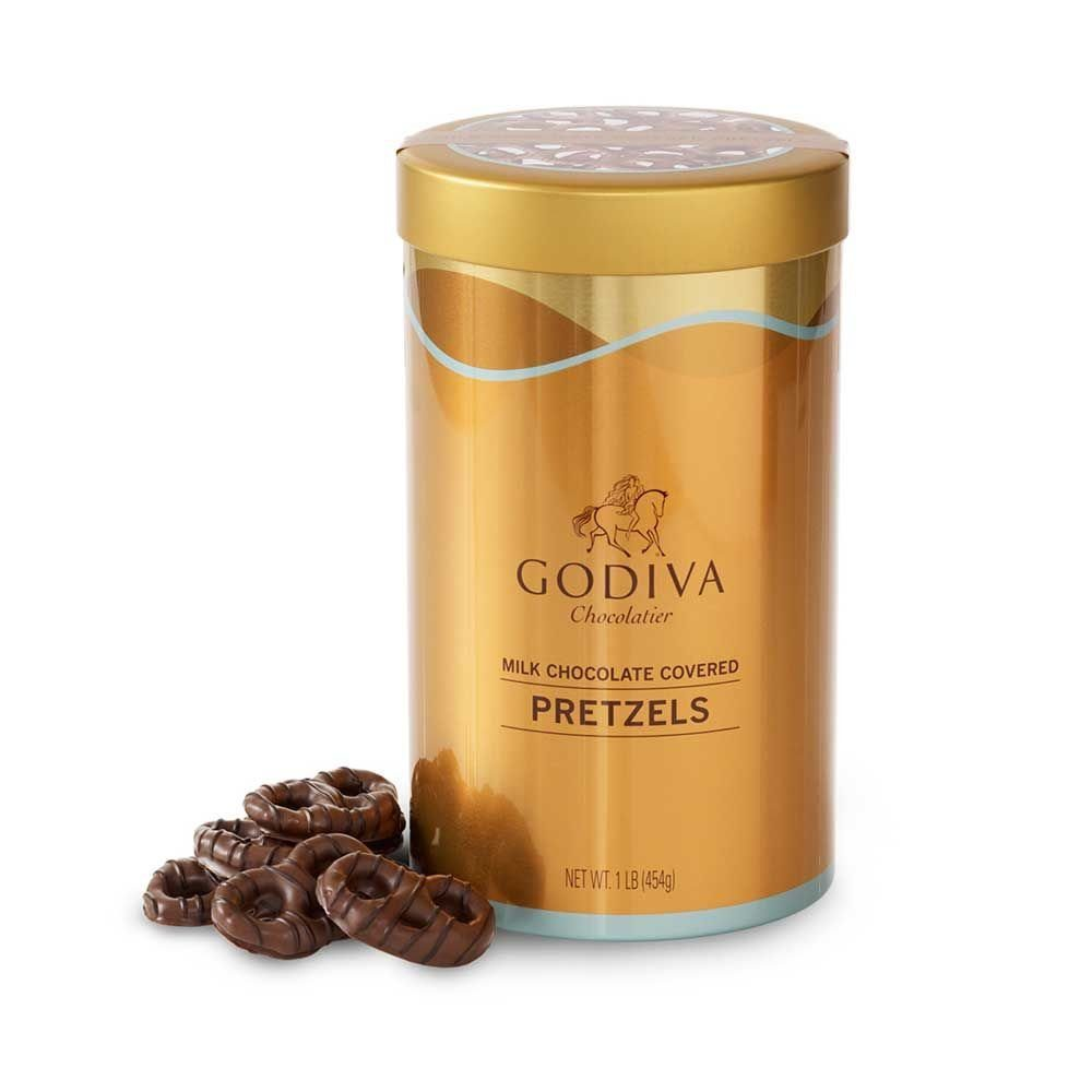 Godiva Chocolatier Milk Chocolate Covered Pretzels