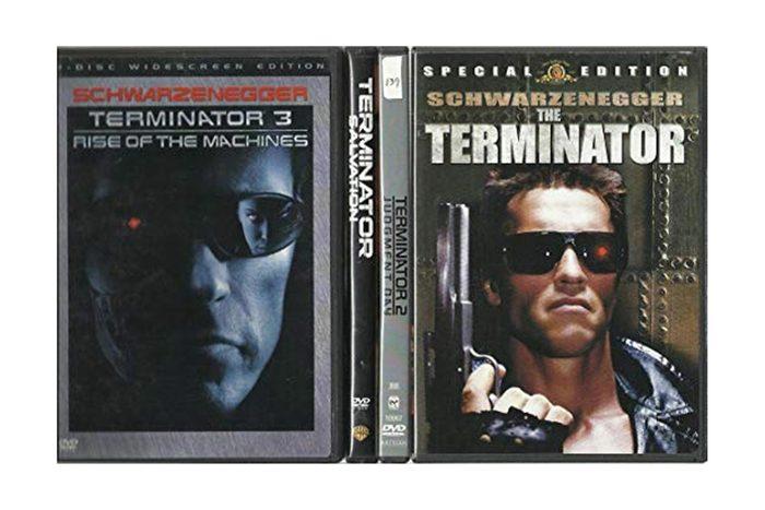 THE TERMINATOR DVD BOX SET! ALL 4 MOVIES ON DVD!
