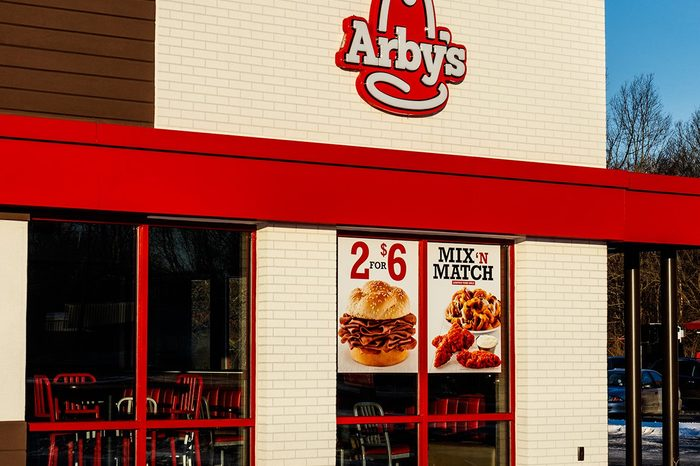 Arby's Retail Fast Food Location.