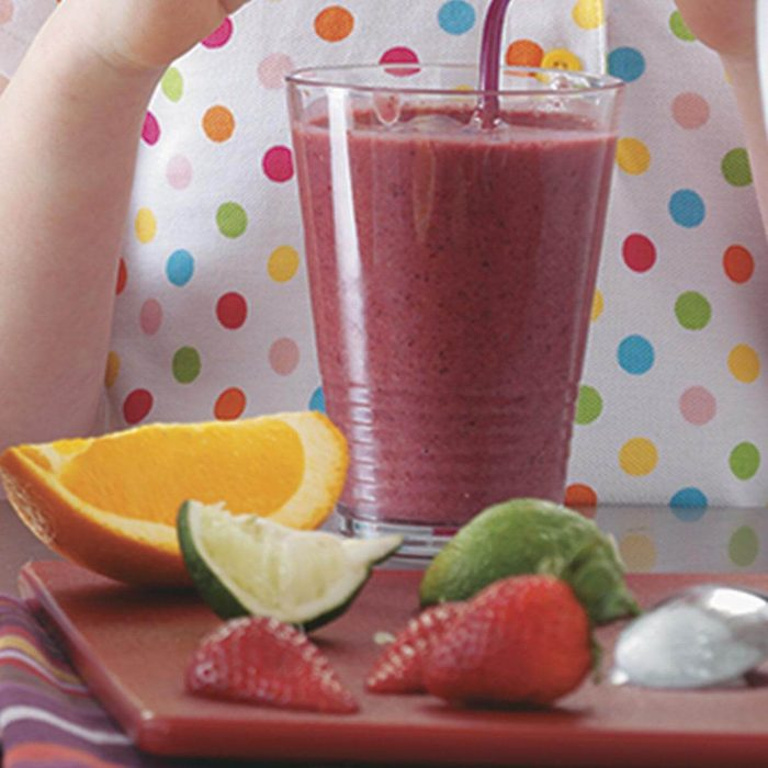 Inspired by: Banana Berry Smoothie
