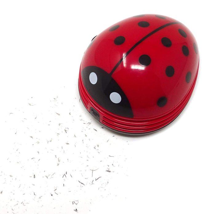 Ladybug desk vacuum