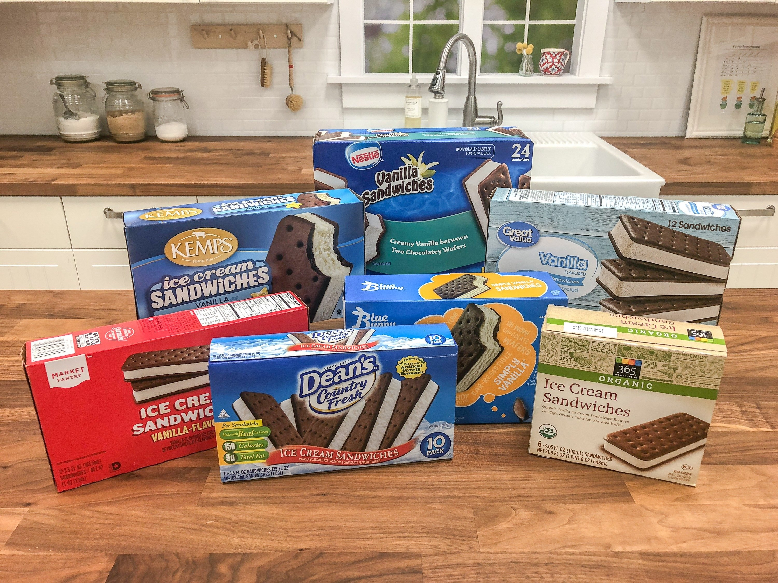We Tried 7 Ice Cream Sandwich Brands Find Out Which Were Buying