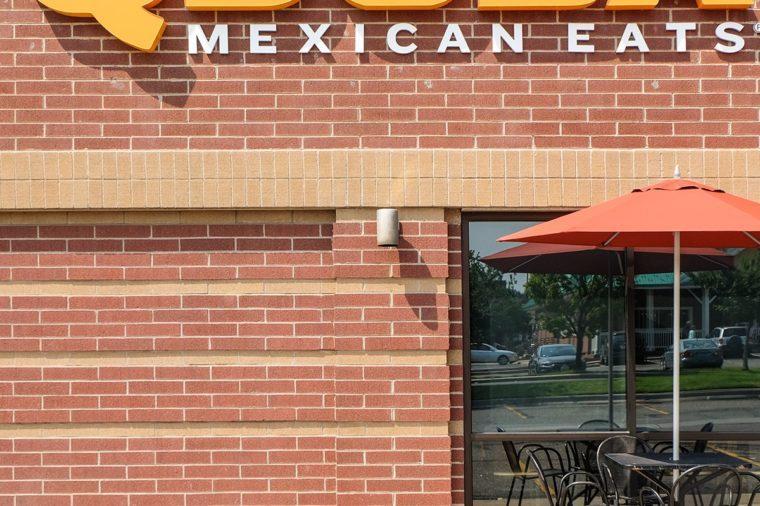 Qdoba Mexican Grill exterior and logo