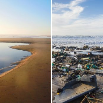 What the World's Most Polluted Beaches Used to Look Like