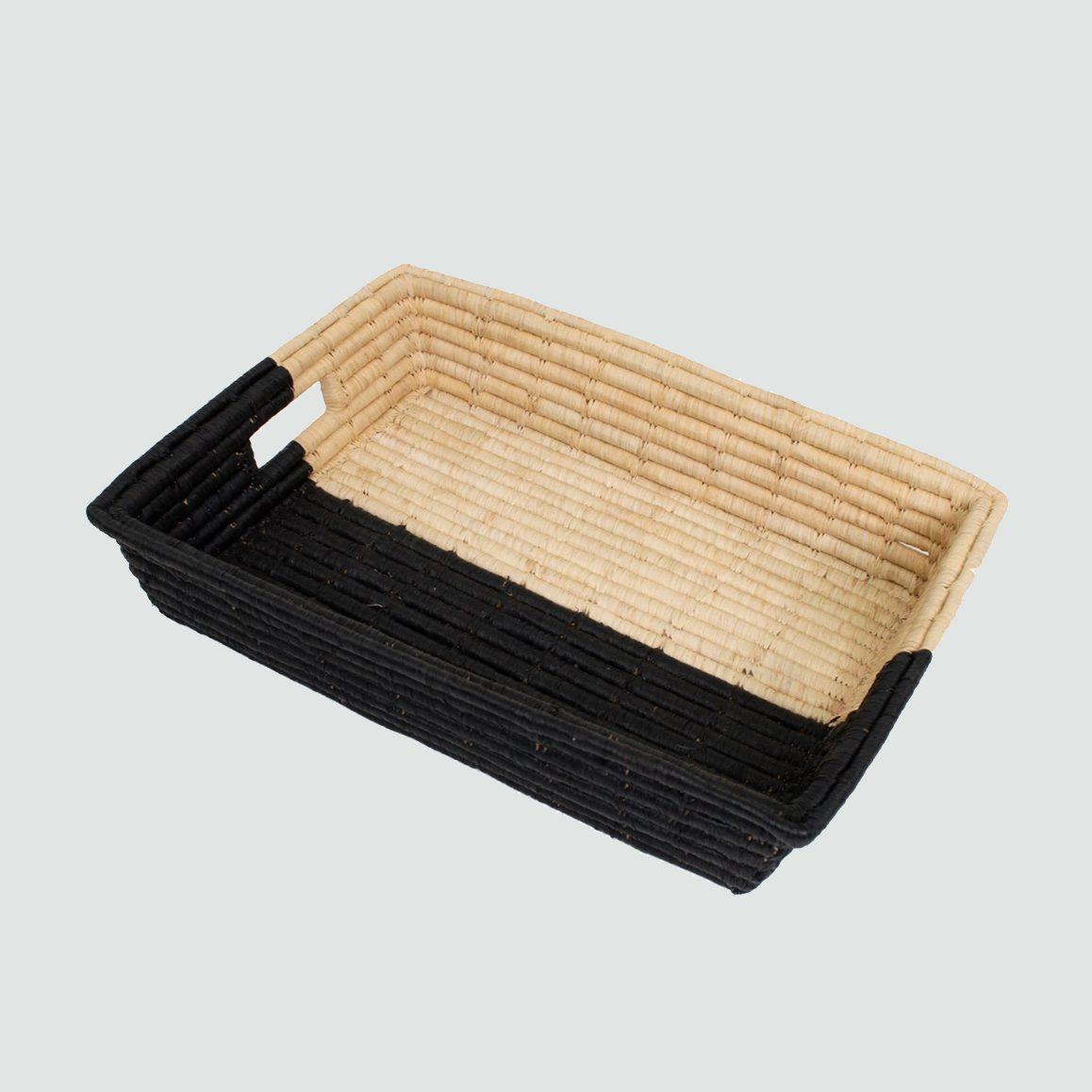 half dipped tray