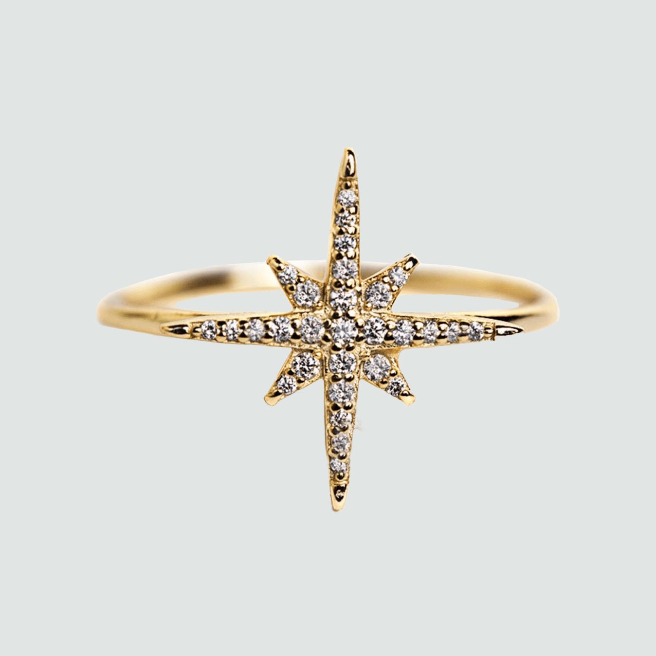 celeste star ring