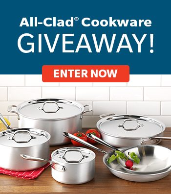 Win an All-Clad Stainless Cookware Set